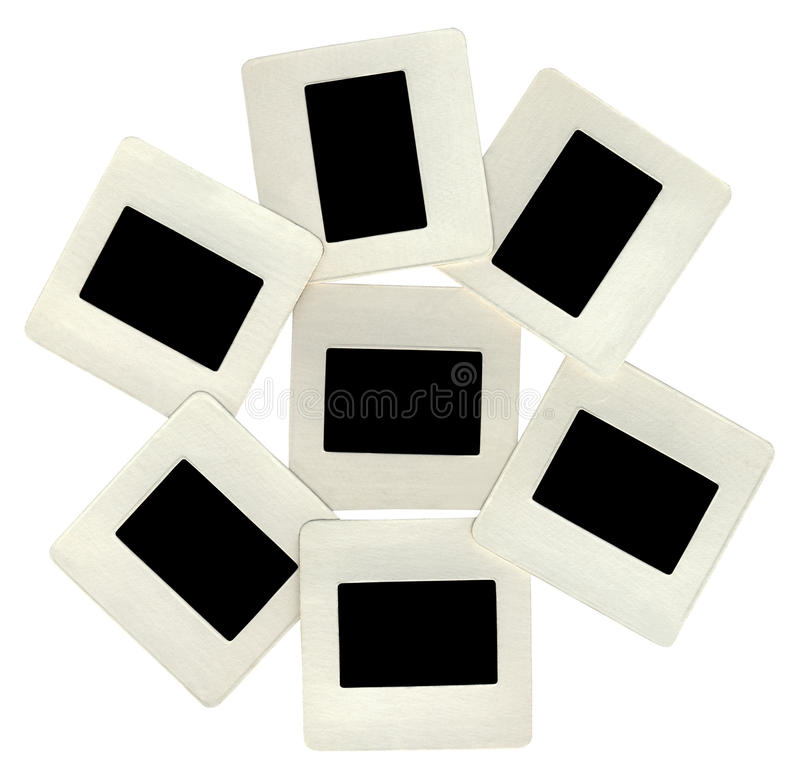 Download Many Black Slides With White Frames, Lightbox Royalty Free Stock Images - Image: 12460199