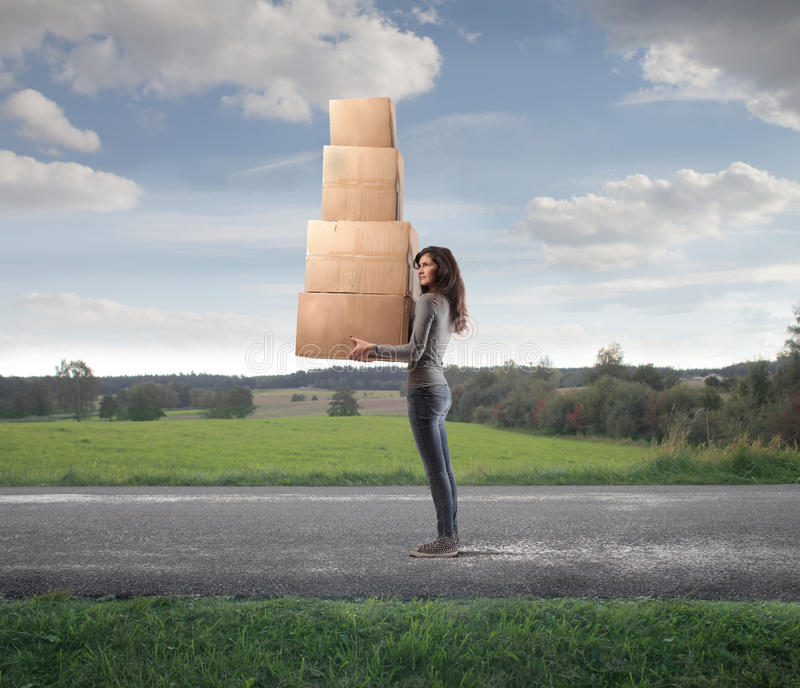 Download Many Boxes Stock Photo - Image: 27313310