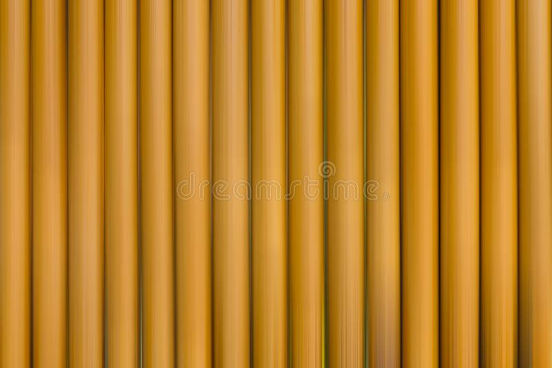 Many brown straws are rows. vector illustration