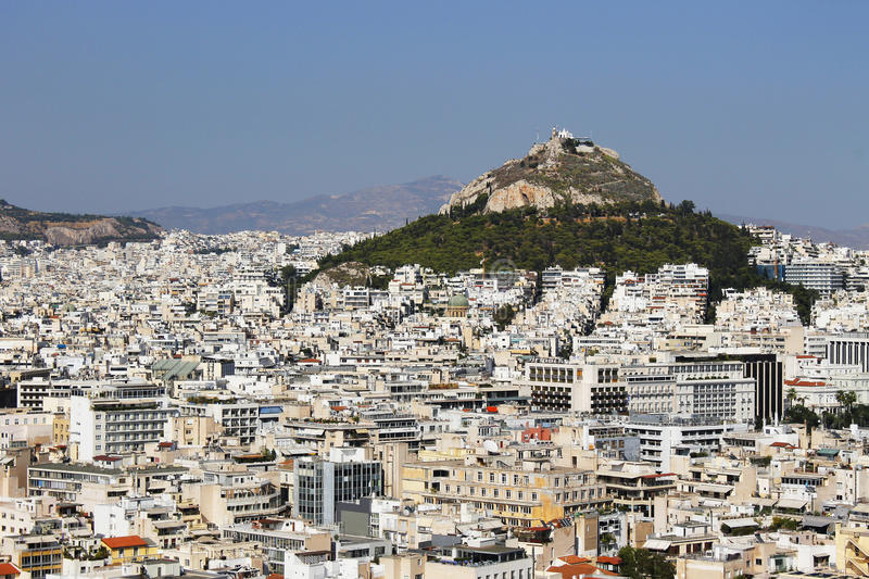 Download Many Buildings And Big Hilltop In Athens Greece Editorial Photography - Image of many, metropolis: 87595637