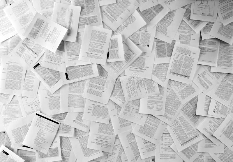 Many business documents. Use for background or texture stock images