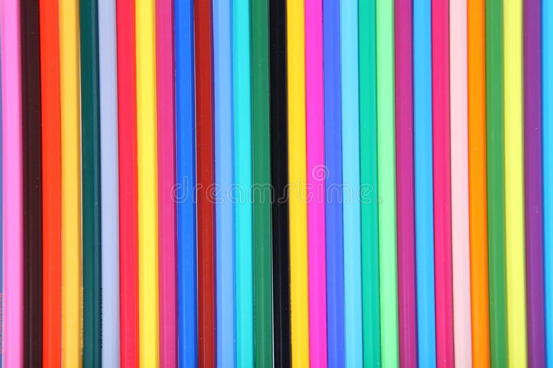 Many-colored pencils