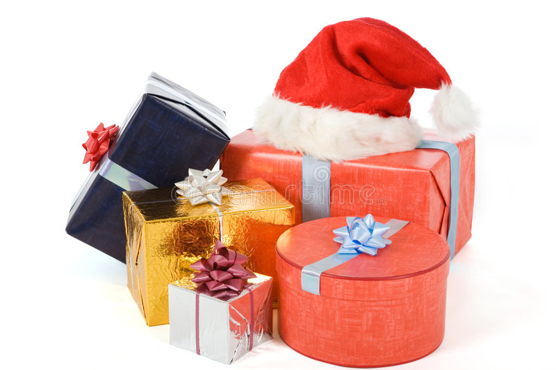 Download Many Colorful Presents Stock Photography - Image: 1412652