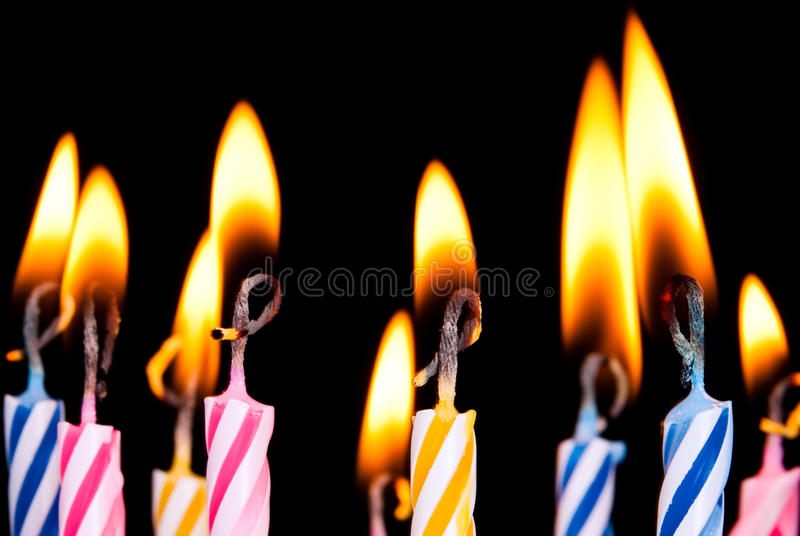 Download Many Coloured Candles Royalty Free Stock Photography - Image: 20616927