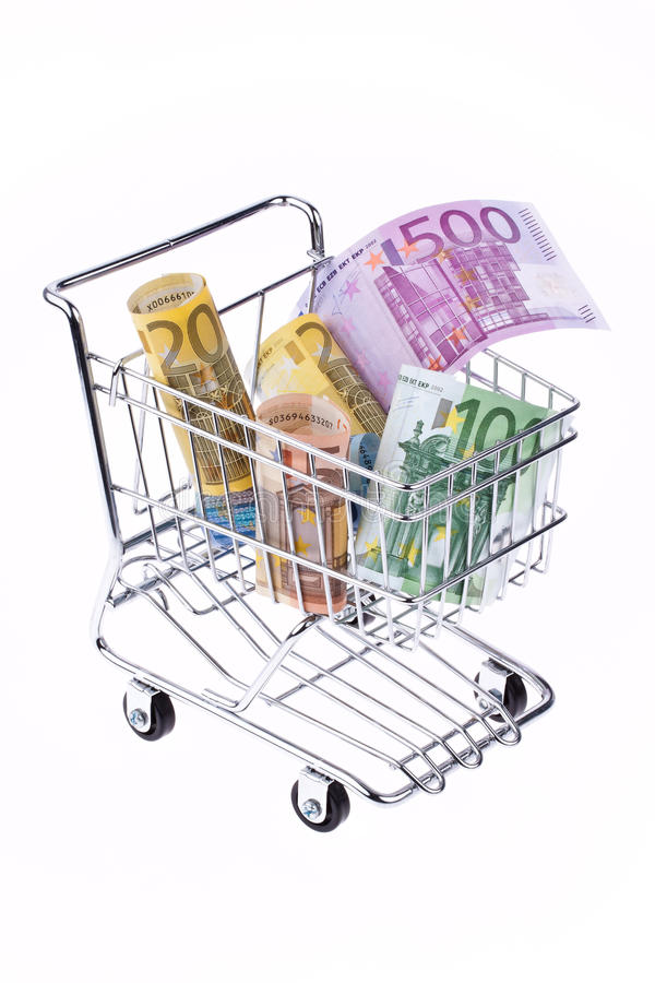 Download Many Euro Banknotes stock photo. Image of investing, money - 15528604