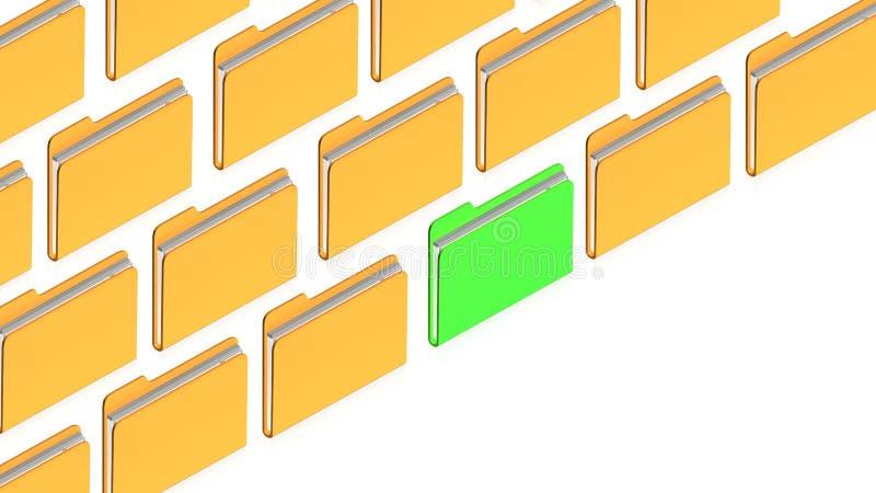 Many folders
