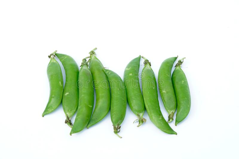 Many fresh fruit beans and vegetable slices stock photography