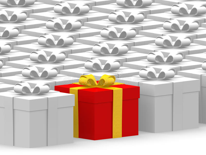 Download Many gifts stock illustration. Illustration of different - 22246549