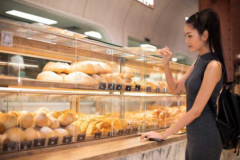 Many Good Looking design and colorful Bakery Cake. Many Good Looking design and colorful Bakery sandwich in refrigerator windows show, present variety of Price stock image