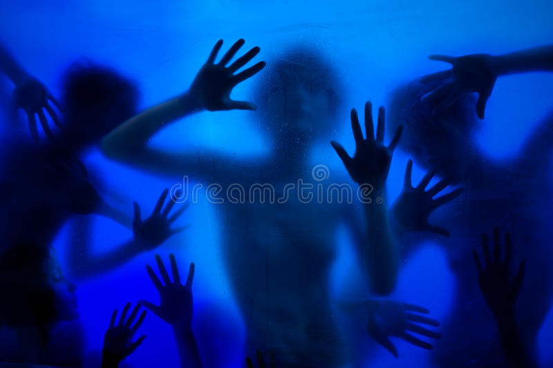 Many hands and royalty free stock image