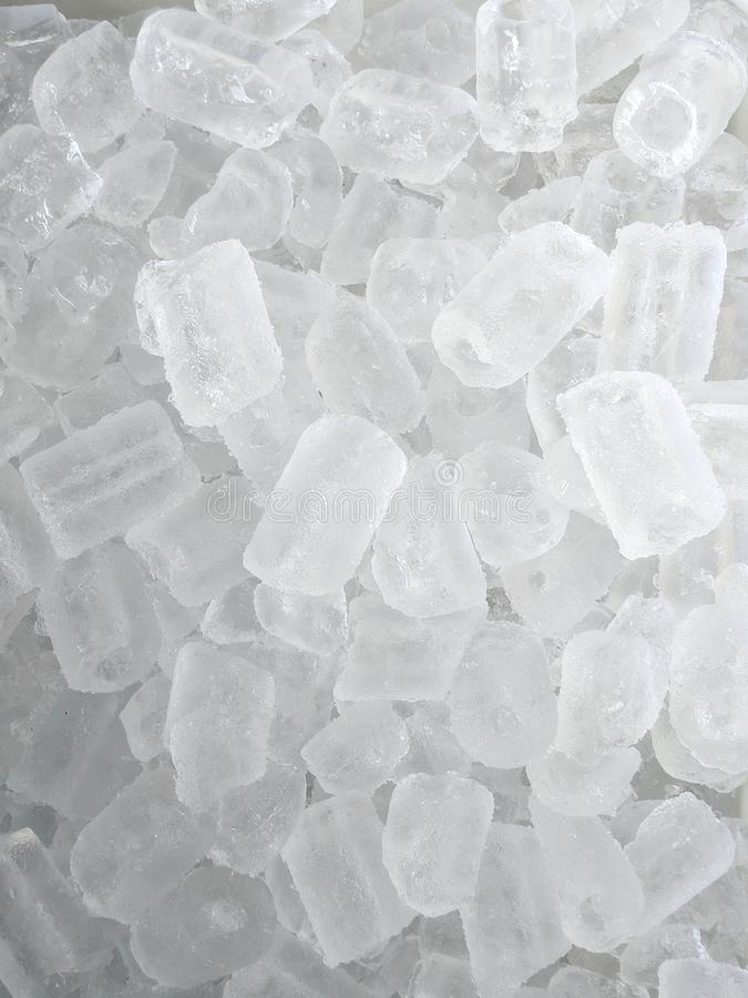 Many ice cube. Very many water ice cube stock images