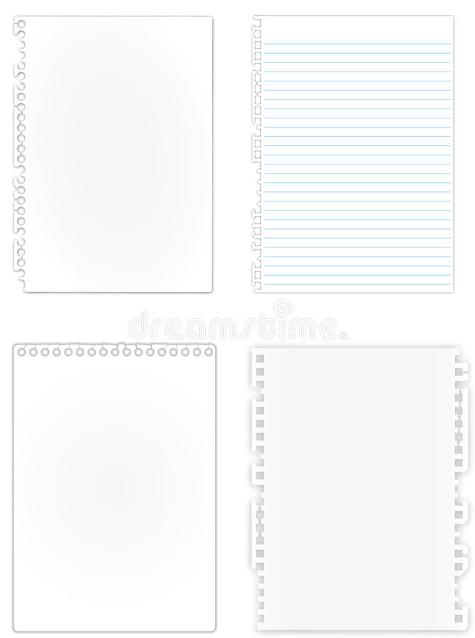 Download Many Of Kind New Paper Page Stock Illustration - Image: 22857627