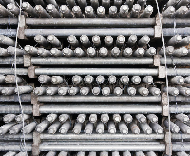 Download Many Layers Of Machine Bolts Stock Photo - Image: 20921976