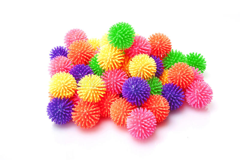 Download Many massage rubber ball stock image. Image of pink, equipment - 23130315