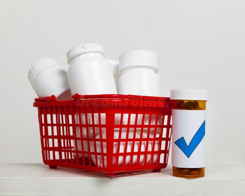 So Many Medications royalty free stock photography