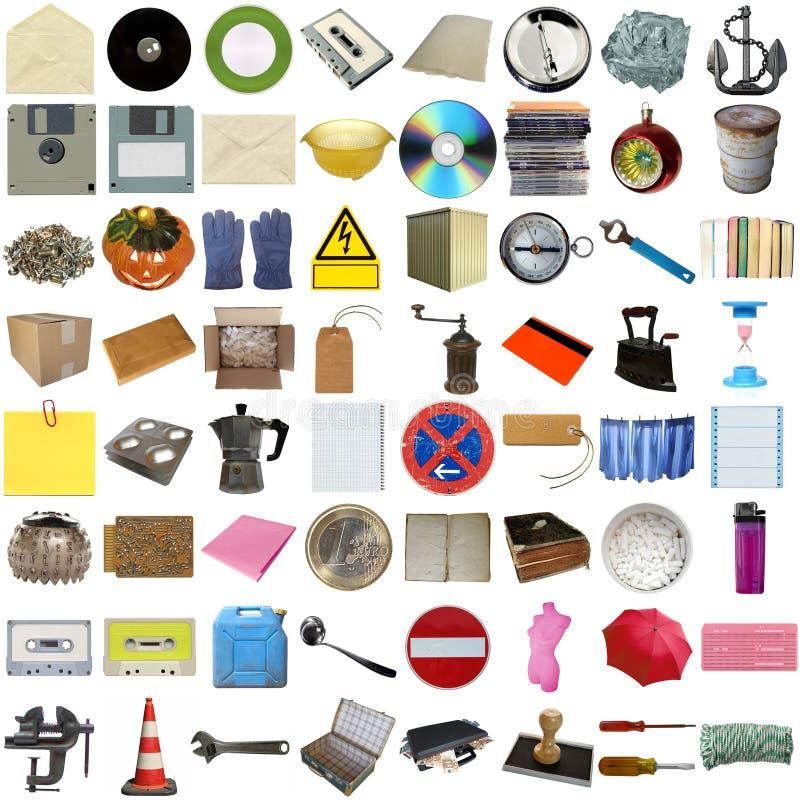 Free Many Objects Isolated Royalty Free Stock Photo - 10705895
