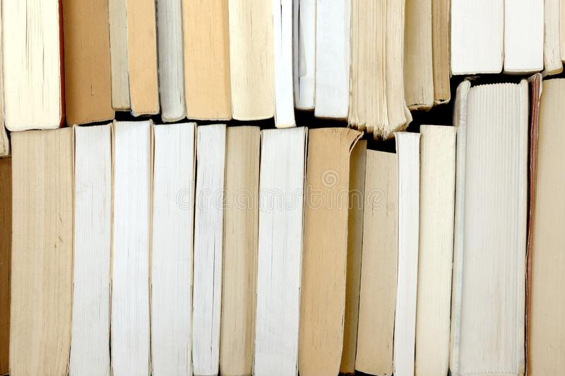 Many old books royalty free stock photography