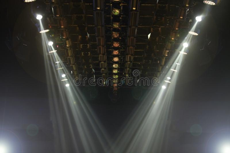 lighting for beams. Download Lights Beams Spotlight Ray Moving Lighting On Rack Construction Stock Image - Of Festival For