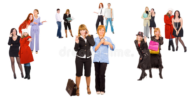 Download Many People Diversity In Business Stock Image - Image: 5847331