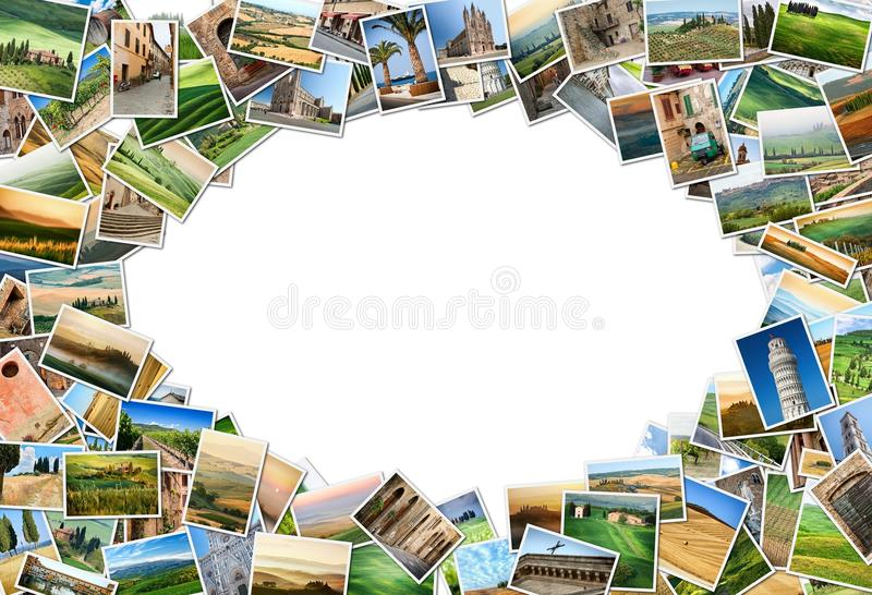 Download Many photos from Tuscany stock image. Image of countrysaid - 27688721