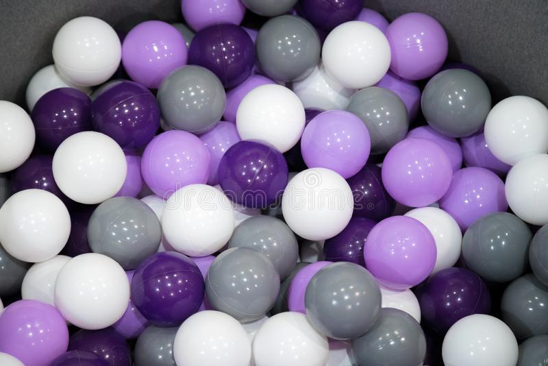 Many ping pong or lottery balls close-up background royalty free stock photo