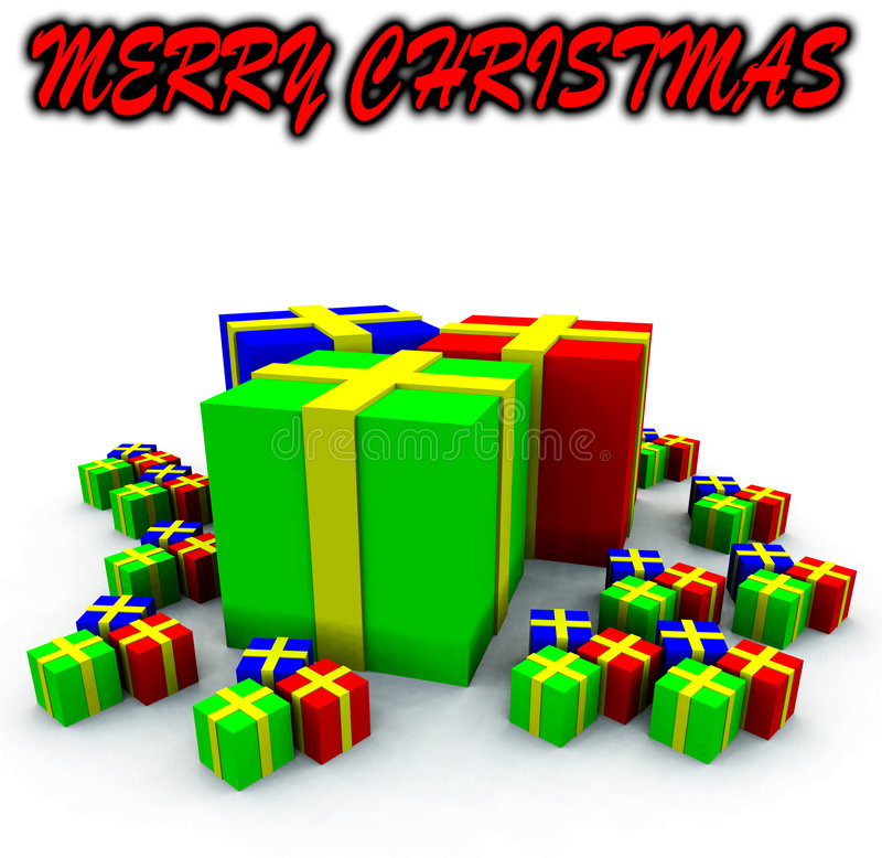 Download Many Presents 9 stock illustration. Image of wrapping - 3750895
