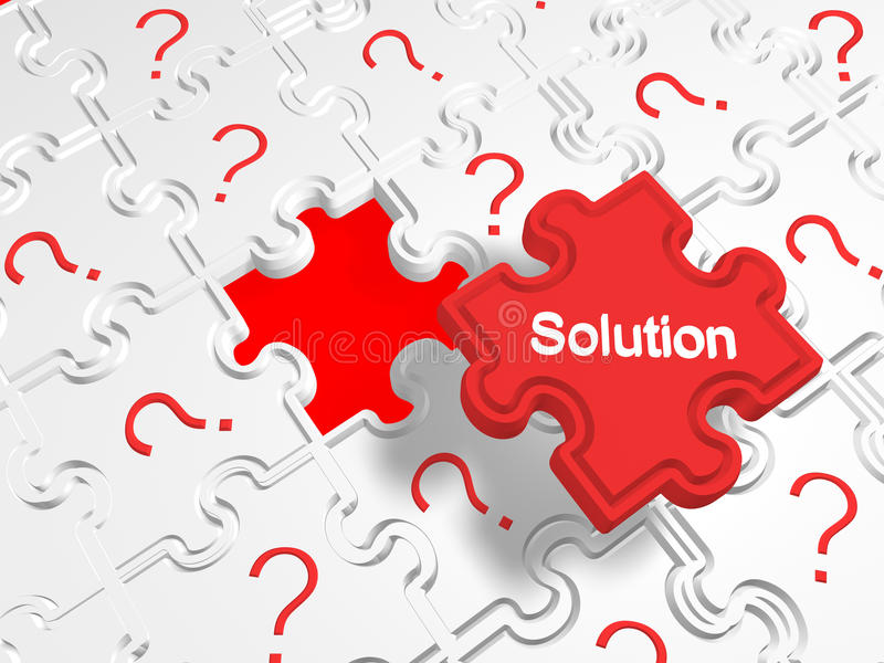 Download Many Problems But One Solution Stock Photo - Image: 25902240