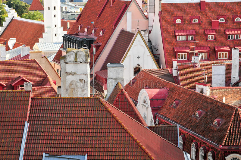Download Many rooftop stock image. Image of outdoor, landmark - 23296387
