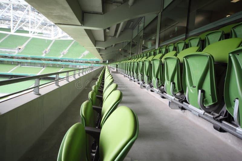 Many Rows Of Seats In Empty Stadium Editorial Photo