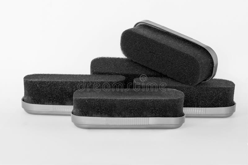 Download Many Shoe Shine Sponges Stock Photo - Image: 83702093