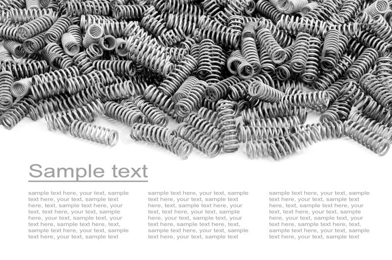 Download Many Small Chrome Springs Royalty Free Stock Images - Image: 29061579