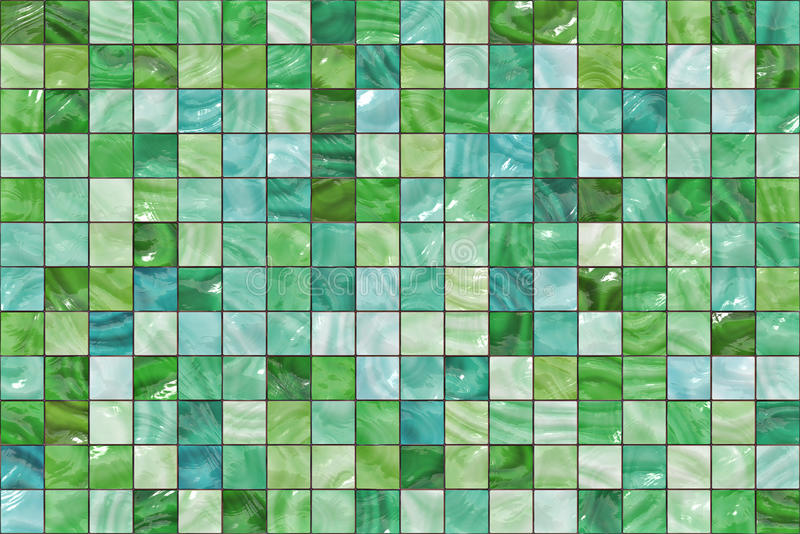 Many small colour square mosaic. pattern texture. abstract image vector illustration