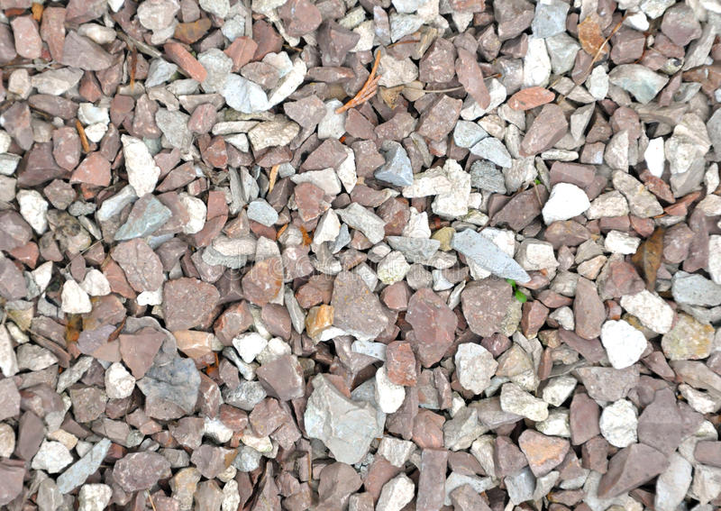 Many Small Granitic Stones Background royalty free stock photos
