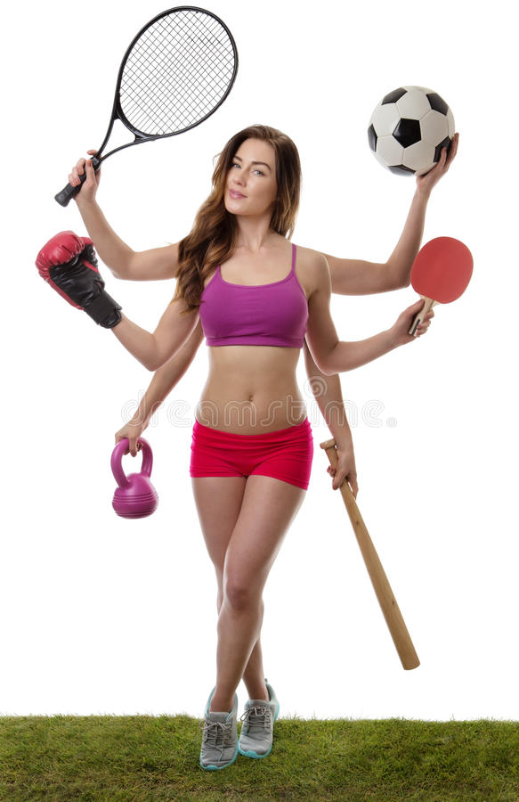 So many sport to choose from stock photos