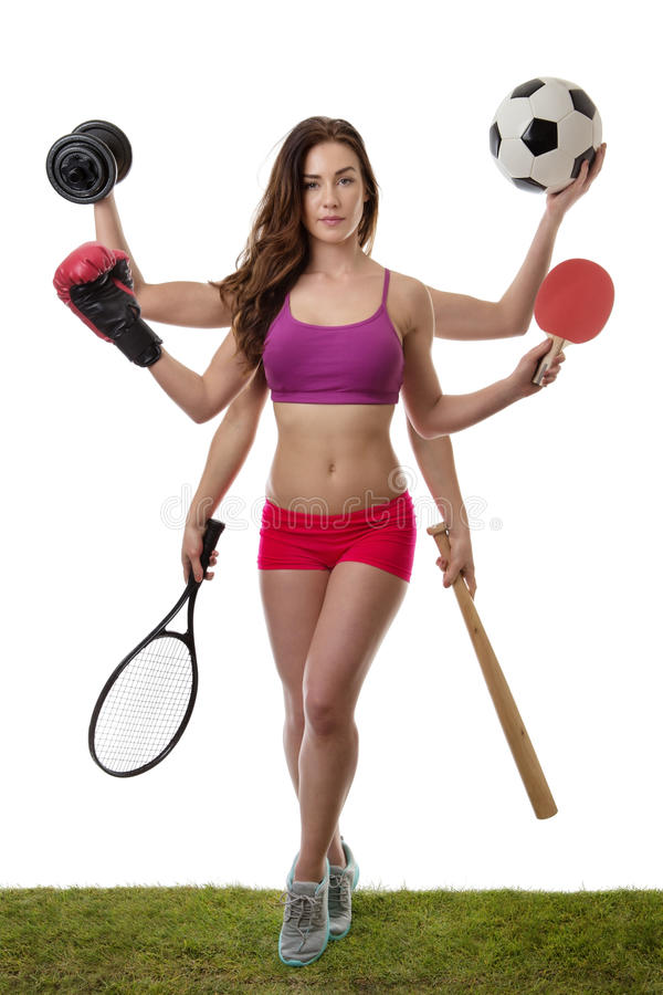 So many sport to choose from royalty free stock photo
