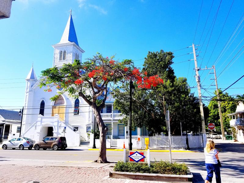 Sightseeing in Keywest. So many things to see in Florida royalty free stock photo