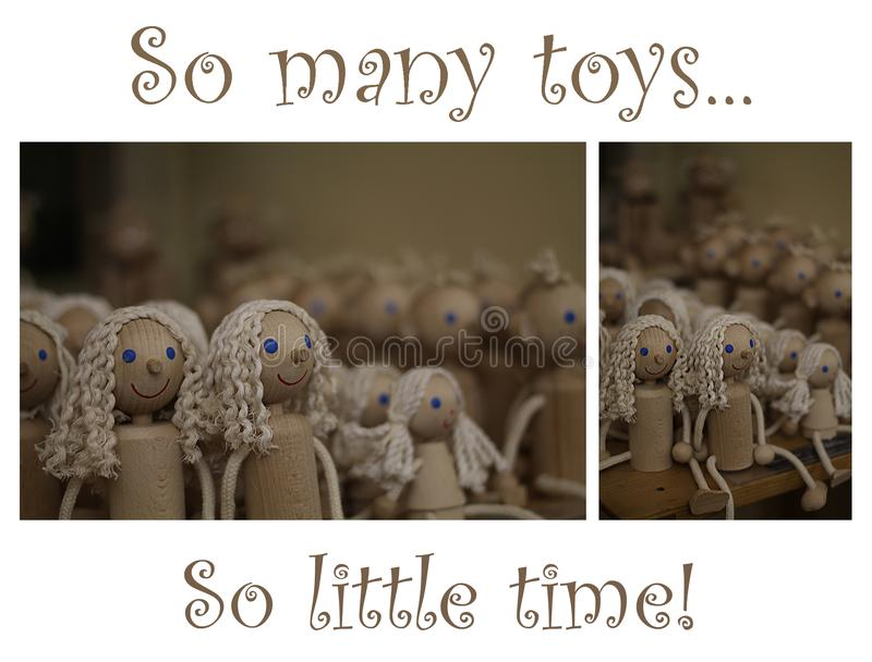 So Many Toys stock image
