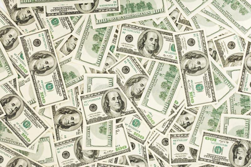 Many US 100 Dollars Stock Photos