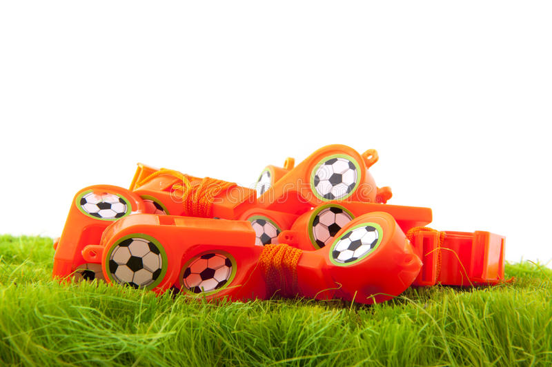 Download Many whistles stock image. Image of fields, football - 14334589