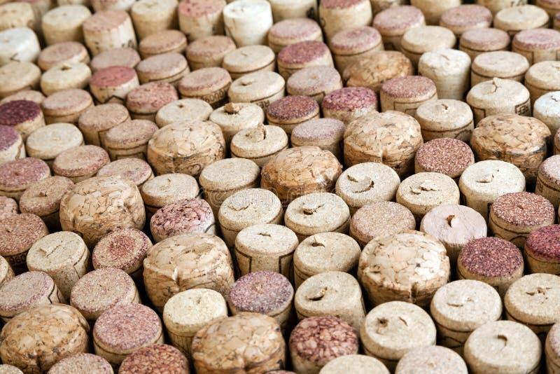 Many Wine Corks Royalty Free Stock Photos