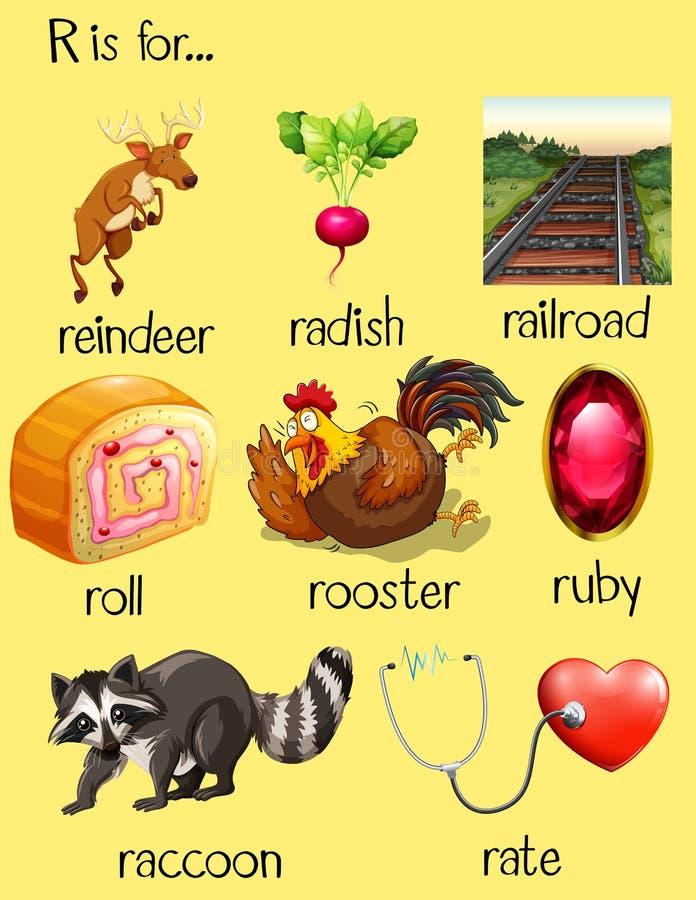 Letter B Words For Kindergarten