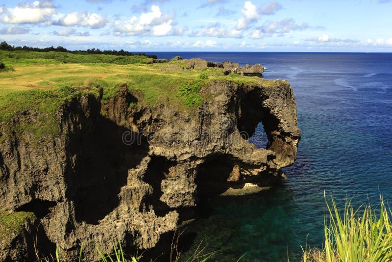 Manza-MOIS l'Okinawa images libres de droits