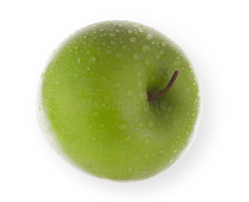 Manzana aislada fresca foto de archivo
