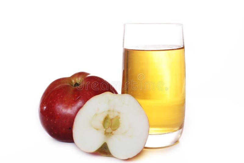 Manzana del jugo imagen de archivo libre de regalías
