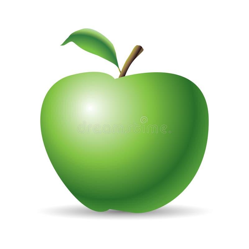 Manzana del vector stock de ilustración