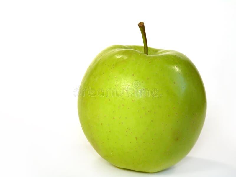 Manzana deliciosa en blanco imágenes de archivo libres de regalías