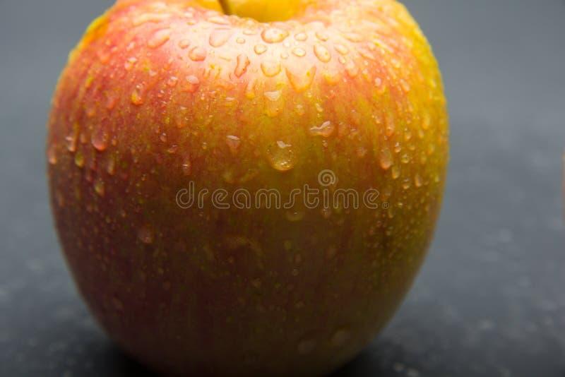 Manzana hermosa, sano, fresco y sano fotografía de archivo