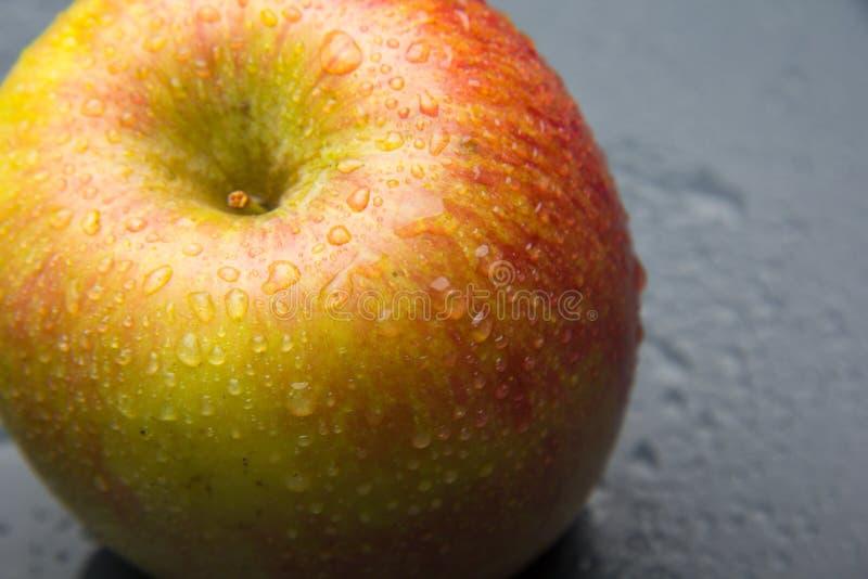 Manzana hermosa, sano, fresco y sano imagen de archivo