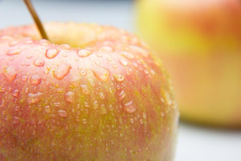 Manzana hermosa, sano, fresco y sano foto de archivo libre de regalías