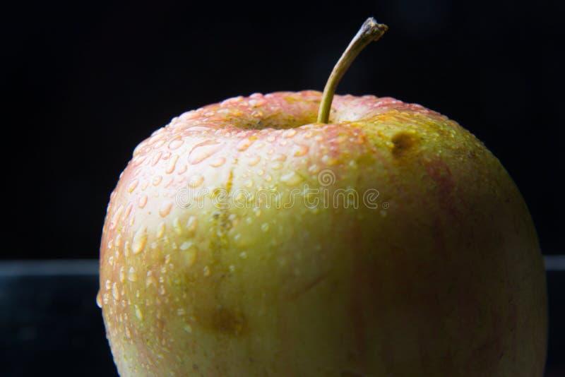 Manzana hermosa, sano, fresco y sano foto de archivo